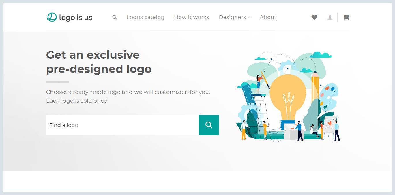 Logo is us