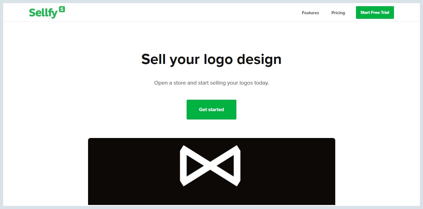 Sellfy - Sell your logo design