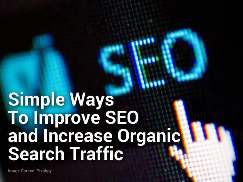 improve seo organic search traffic