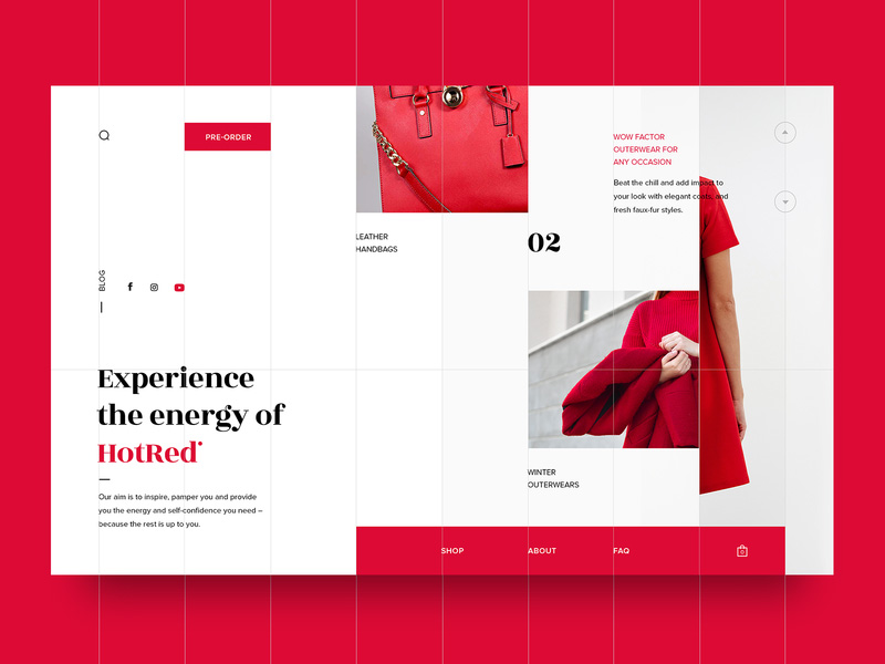 Grid Web Design Inspiration