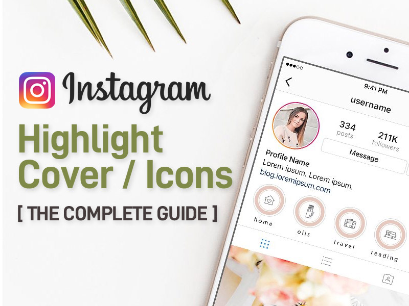 Instagram Highlights Cover/Icons Makers and Templates 2021