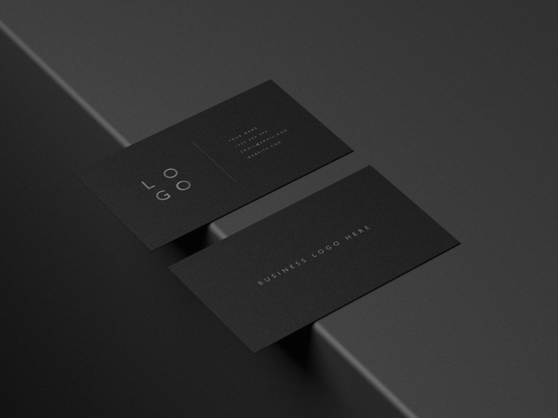 25+ Realistic & High-Quality Business Card Mockup PSD to Download for Free