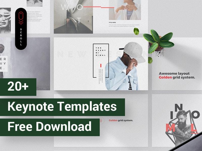 Minimal Keynote Templates Free