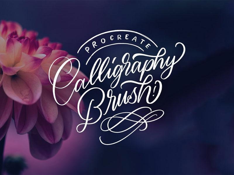 Calligraphy Procreate Brushes