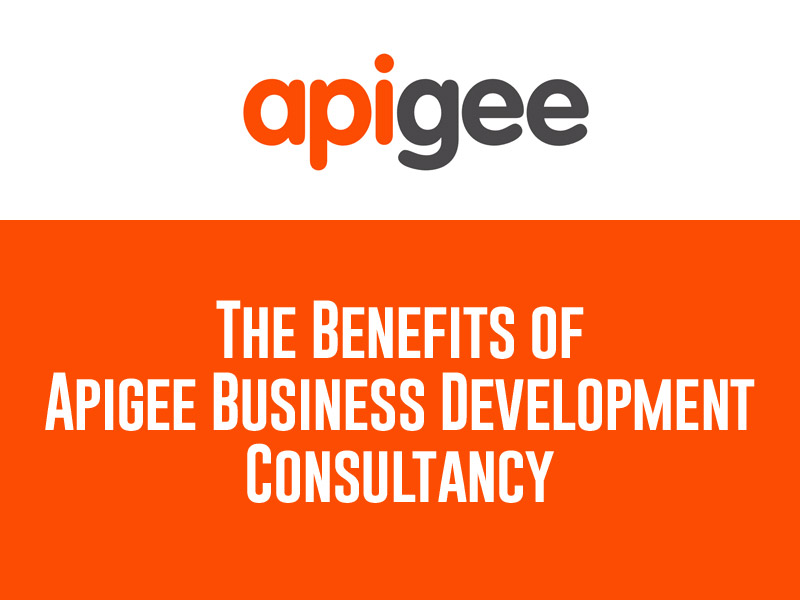 The Benefits of Apigee Business Development Consultancy