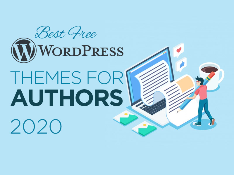 10 Best Free WordPress Themes for Authors of 2020
