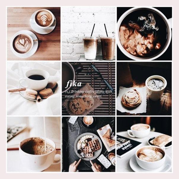 Aesthetic Mood Board Coffee