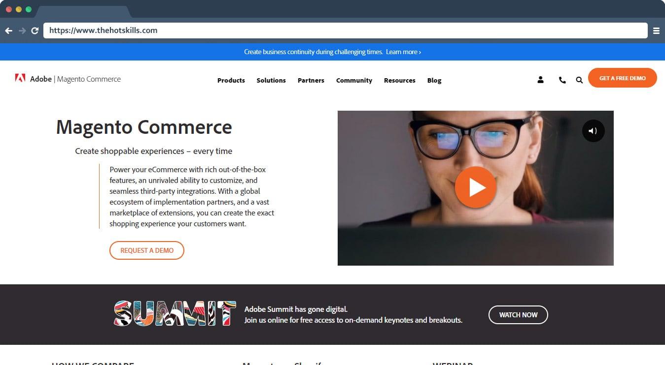Magento Best eCommerce Platform