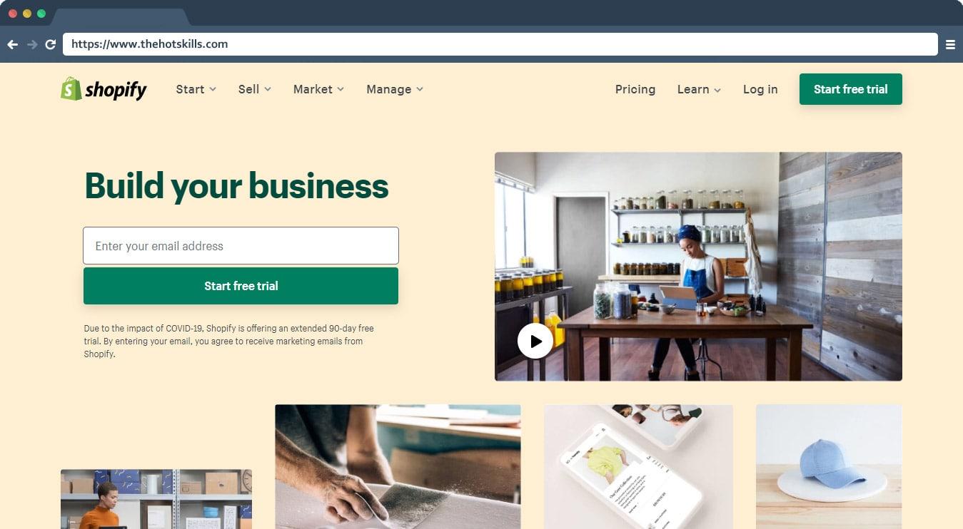 Shopify Best eCommerce Platform