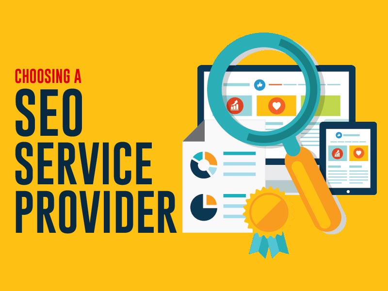 Choosing an SEO service provider for a small company