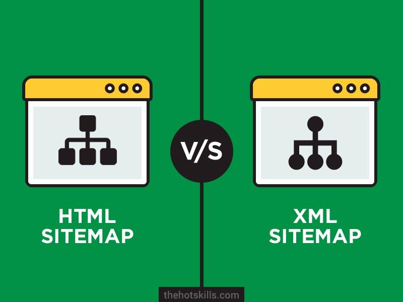 HTML sitemap vs XML sitemap