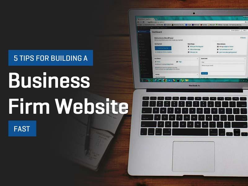 Business Firm Website
