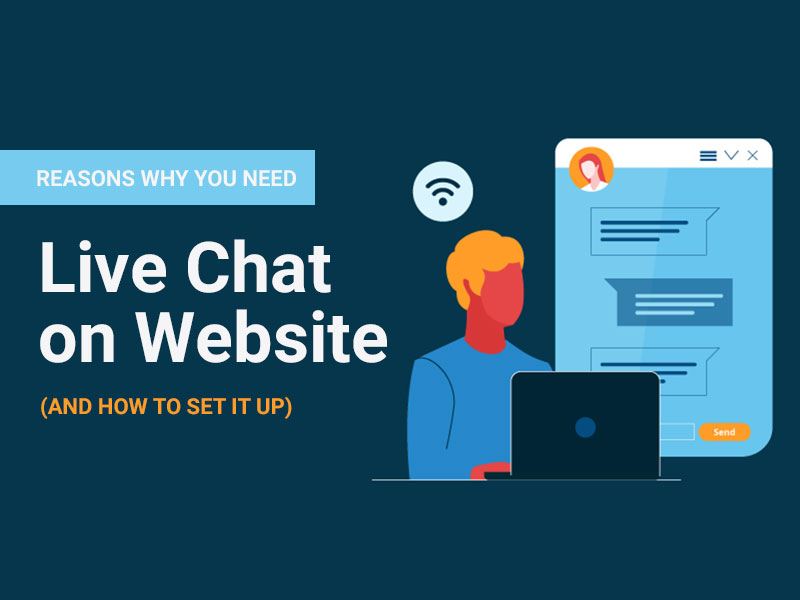 Live Chat on Website