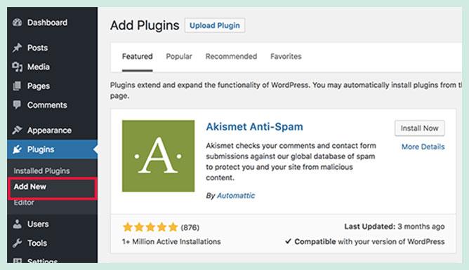 Add WordPress Plugins Easily