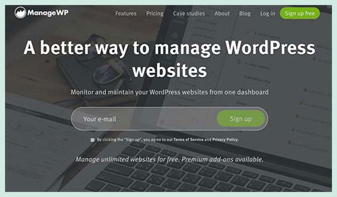 Manage WordPress