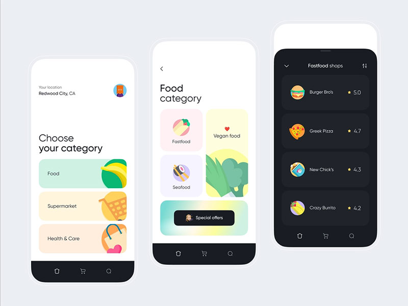 Minimalism UI Design