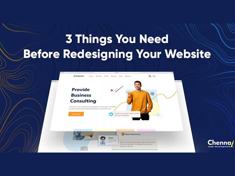 Important Things to Consider Before Redesigning a Website