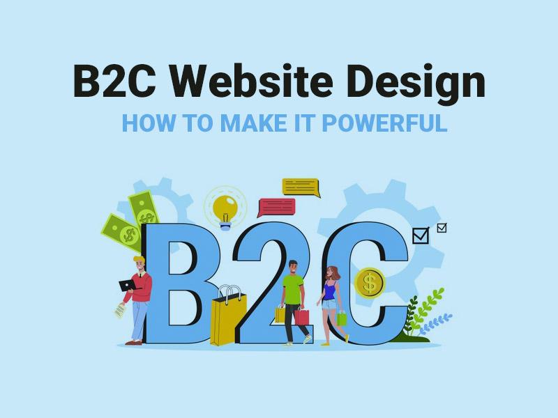 B2C Website Design