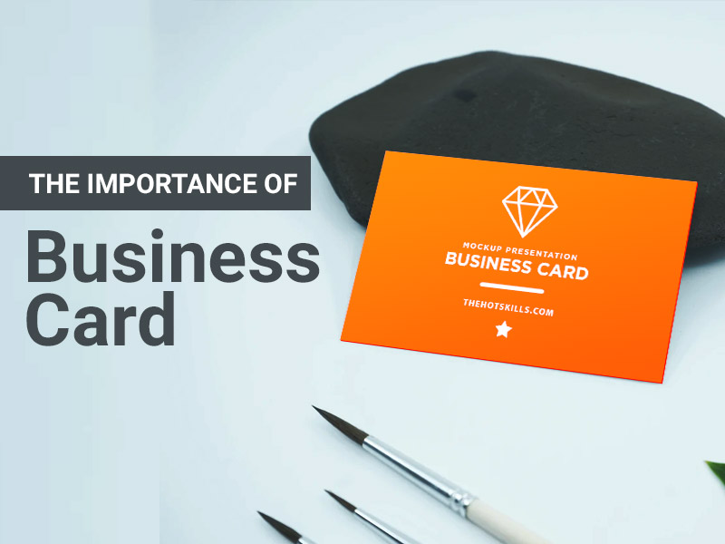 Importance of Business Card