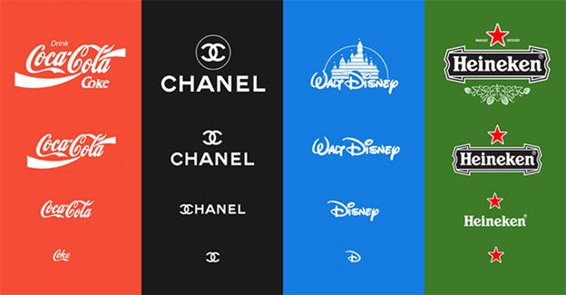 different logo versions