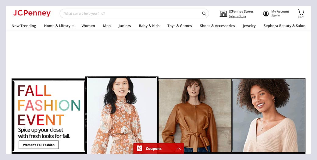 Jcpenney Fashion Website