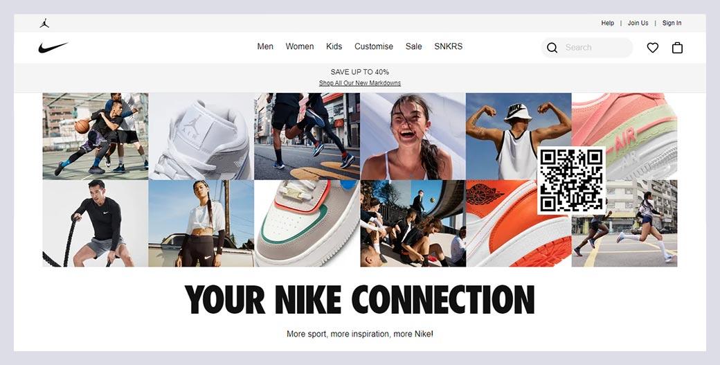 Nike Fashion Website