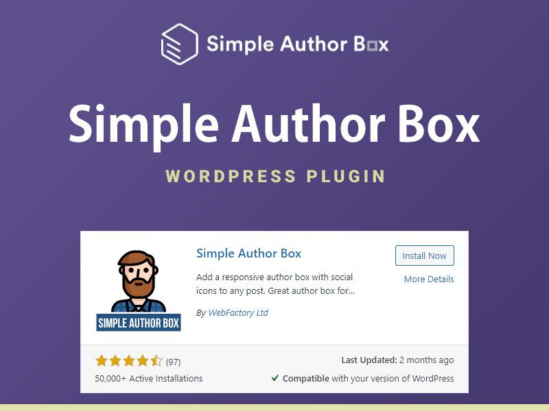 Simple Author Bio Box WordPress Plugin