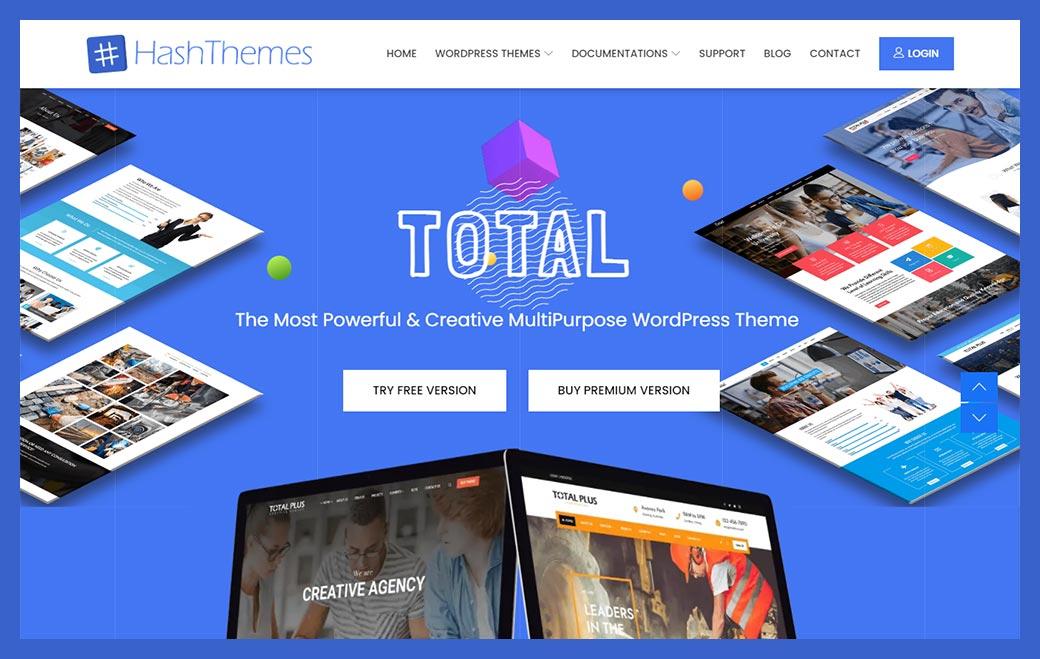 Total - WordPress multipurpose Theme