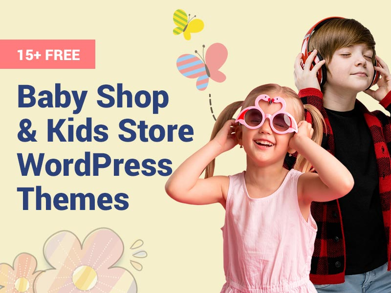 Free Baby Shop WordPress Themes
