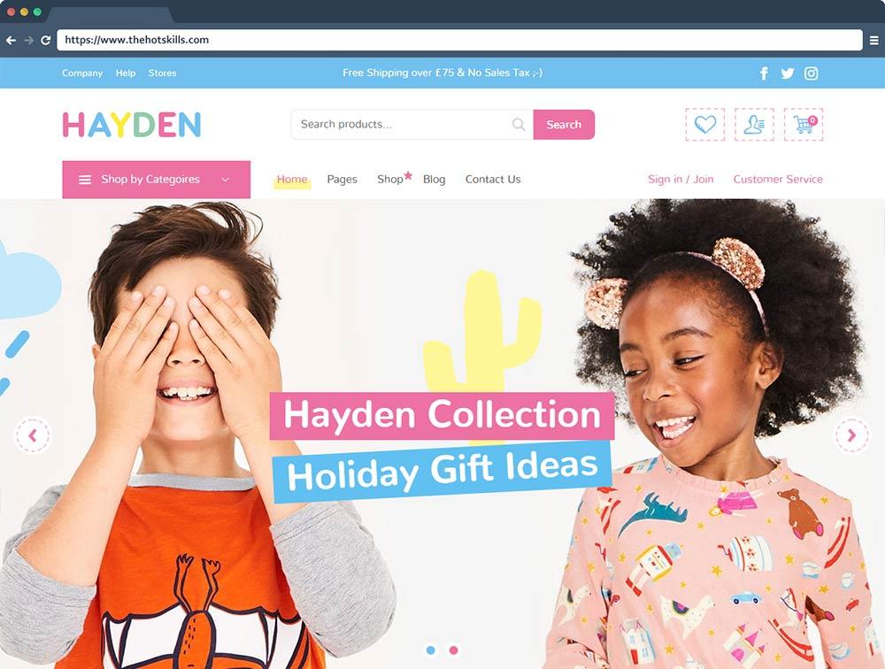 Hayden - Kids Store & Baby Shop